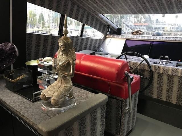 Amer 92 Yacht Helm