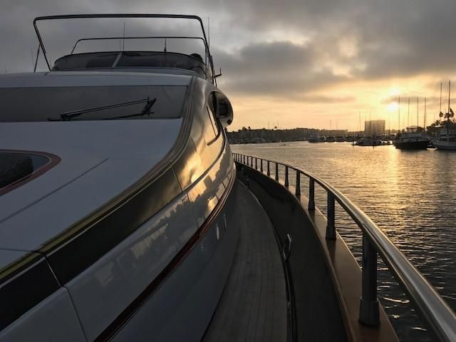 Amer 92 Yacht Bow Profile