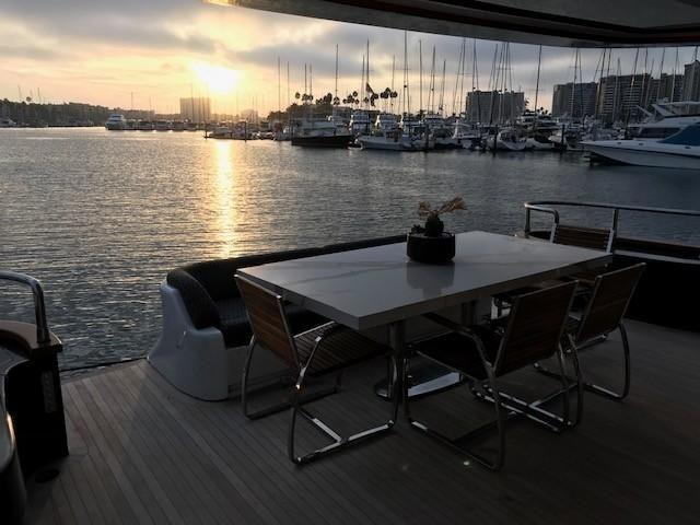 Amer 92 Yacht Aft Deck