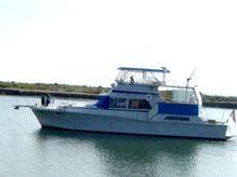 1984 Uniflite 48 Yacht Fisherman