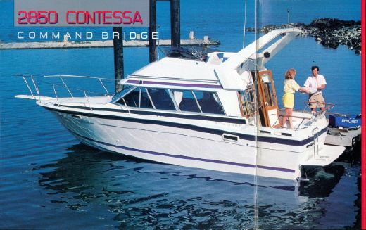 1988 Bayliner 2850 Contessa Command Bridge