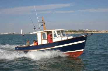 2007 Custom Rhéa Marine Rhèa 750 Timonier