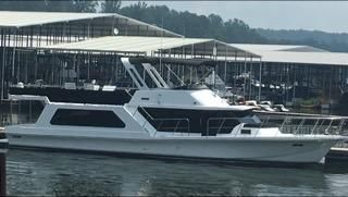 1985 Bluewater 51 Cockpit Motor Yacht