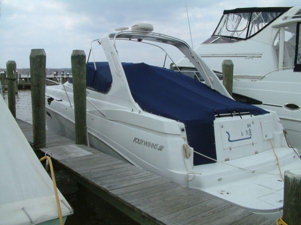 2003 four winns 378 vista huge reduction power boat for Outboard motors for sale maryland