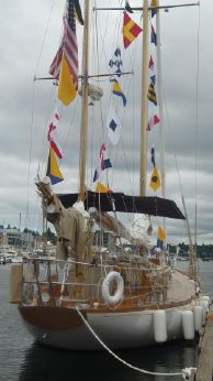 1960 Finisterre Sparkman and Stephens Yawl