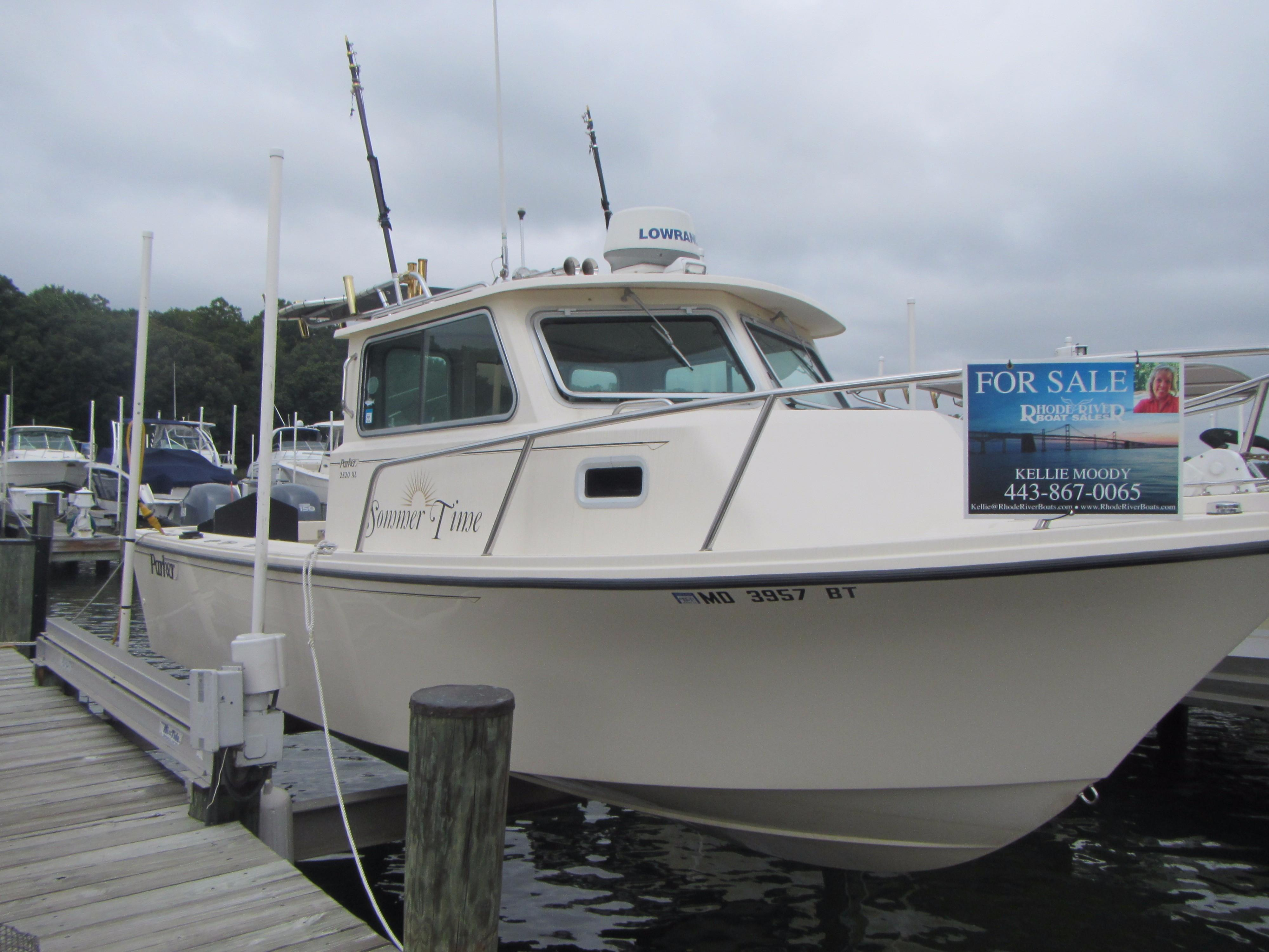 Parker new and used boats for sale in maryland for Used fishing boats for sale in md
