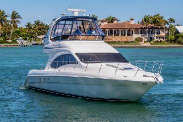 Sea Ray 420 Sedan Bridge boats for sale - YachtWorld