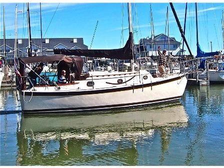 1987 Hutchins Com-Pac Yacht