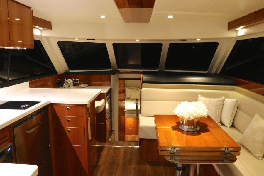 Riviera 43 Open Flybridge Yacht Salon