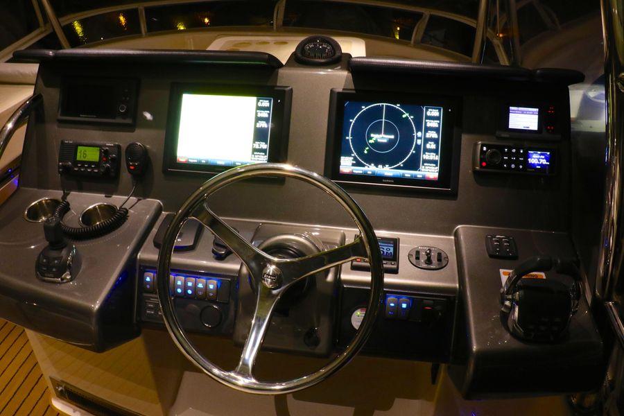 Riviera 43 Open Flybridge Helm Electronics