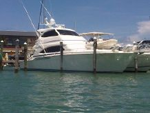 2005 Bertram 630 Enclosed Bridge