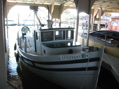 1940 Monterey Fishing Boat