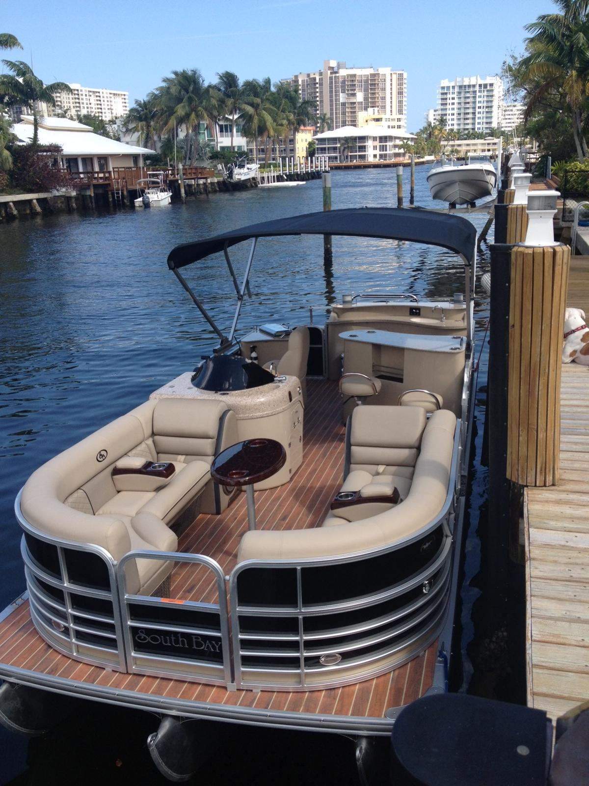 24 ft 2013 south bay 724 e dlx tt13