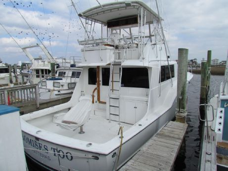 1970 Hatteras REPOWERED AND CUSTOMIZED - 500 HOURS SINCE MAJOR