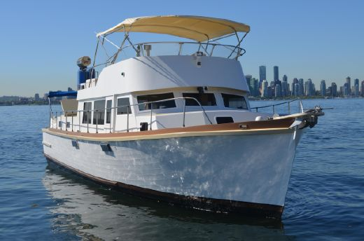 1966 Monk Custom Trawler 47'