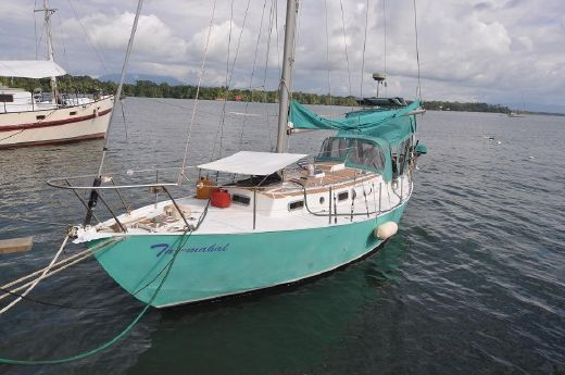 1977 Alvin Mason 33' steel sloop, well kept