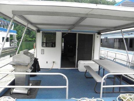 1988 Waterhouse Houseboat