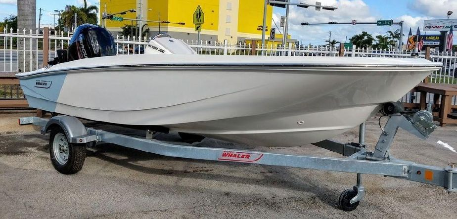 2019 Boston Whaler 160 Super Sport Motor Boot zum Verkauf