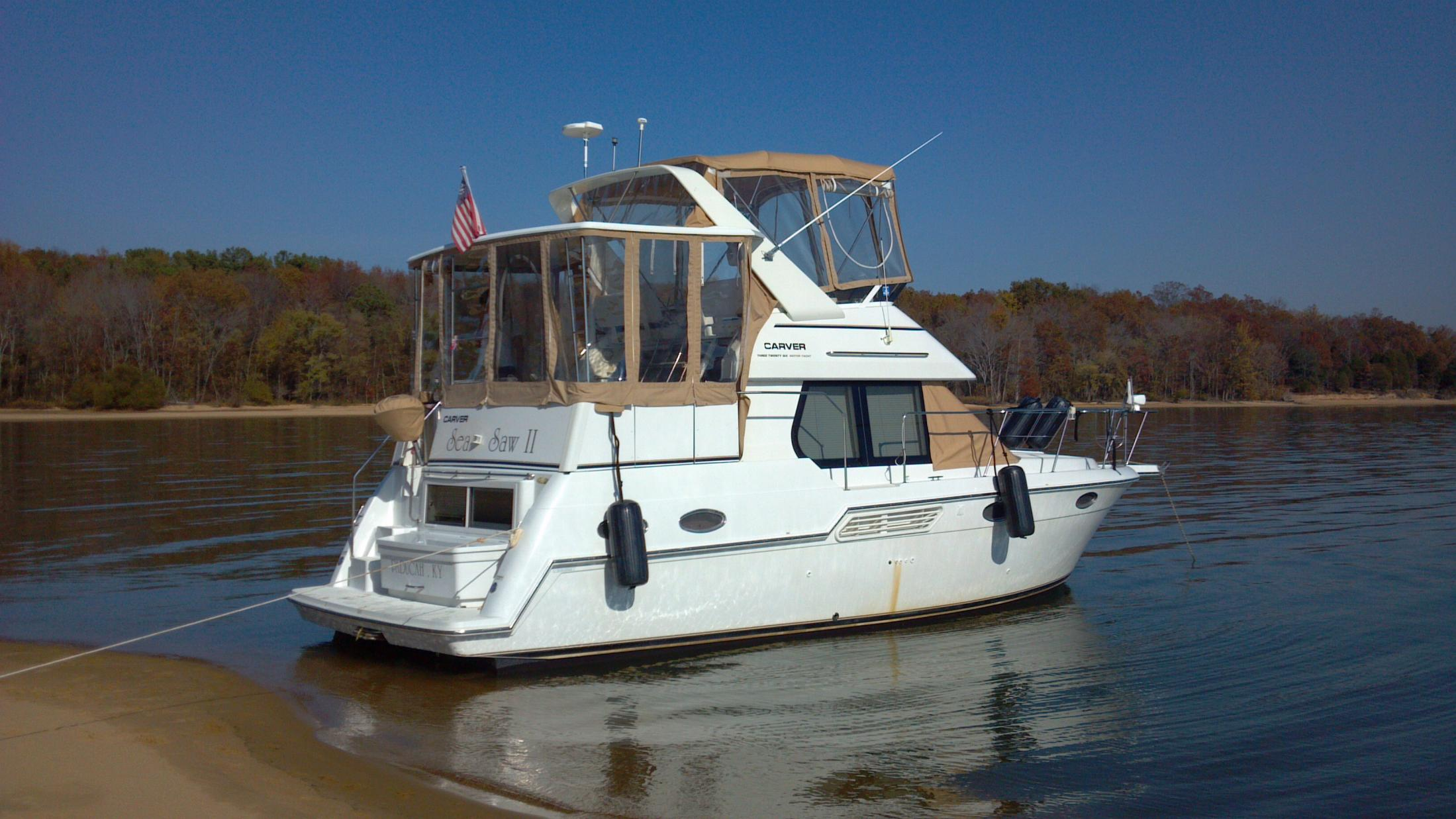 Grand Rivers (KY) United States  City new picture : 1999 Carver 326 Aft Cabin Power Boat For Sale www.yachtworld.com