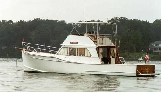 1974 D'eon Downeast Cruiser - Single Engine Full Keel Motor Yacht