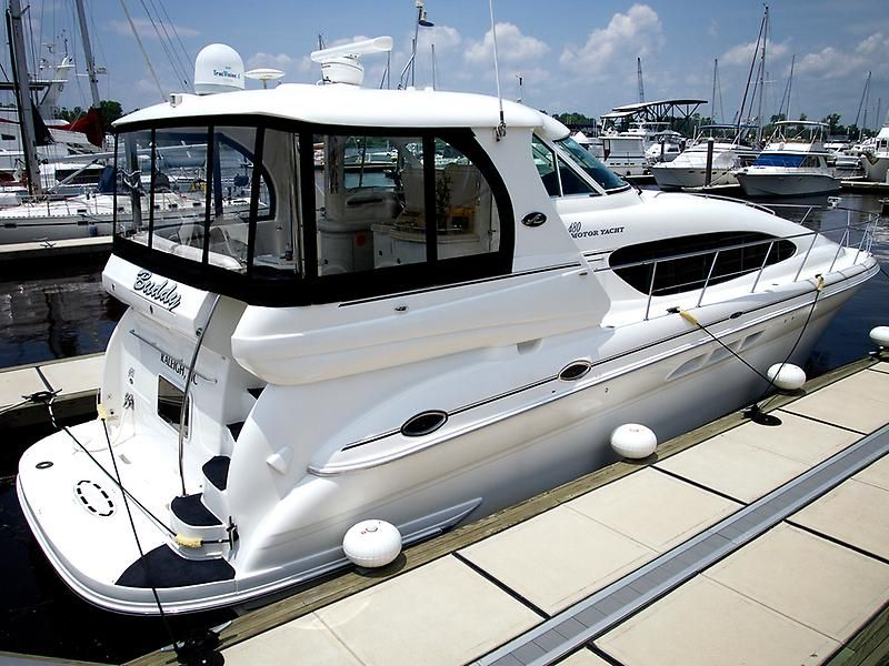 2005 sea ray 480 motor yacht power boat for sale www for Sea ray boat motors
