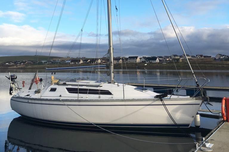 1989 Jeanneau Sun Light 30 Sail Boat For Sale - www ... on