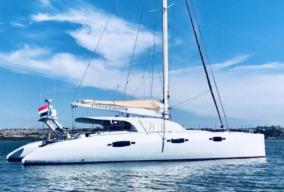 2009 Catamaran Enmar Ambercat 210 Sail Boat For Sale - www