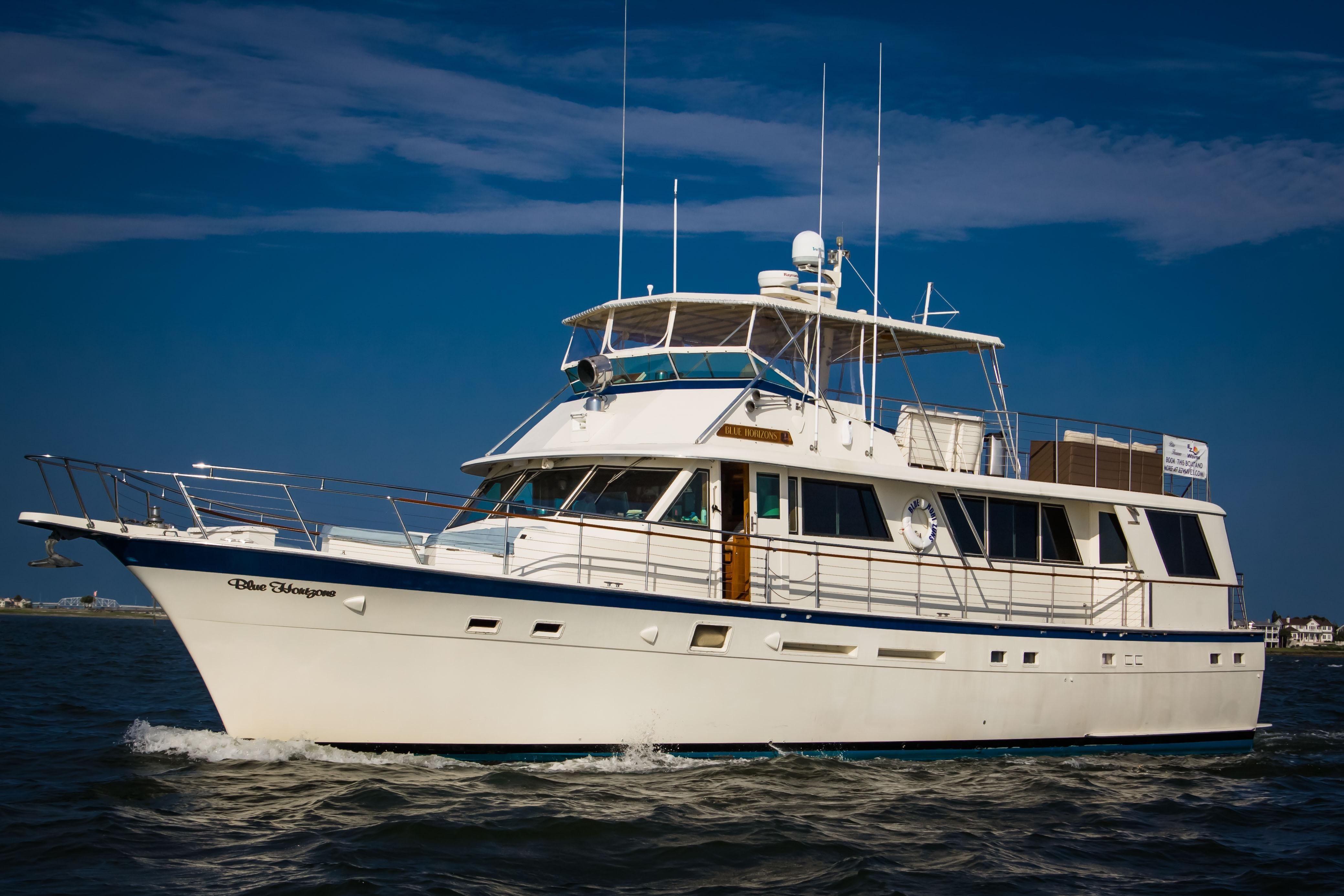 1983 hatteras 70 ft motoryacht power boat for sale www for Boat motors for sale in sc