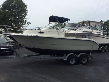2001 Sea Fox 210 Walk Around
