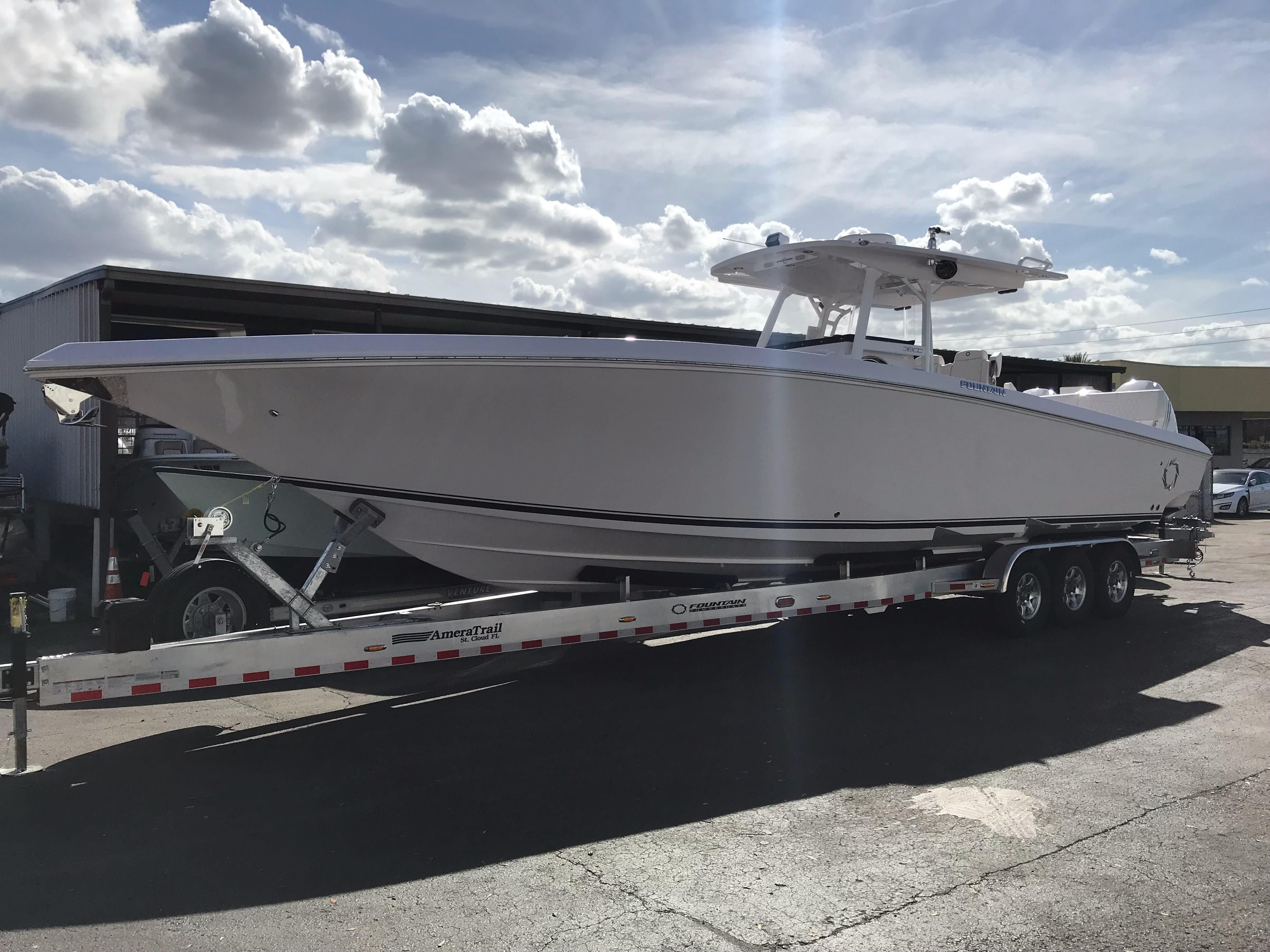2018 Fountain 38 Center Console Power Boat For Sale Www