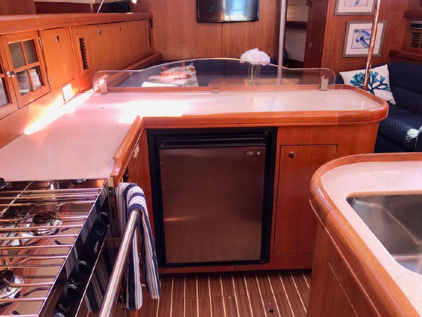 Hunter 46LE Sailboat Galley Kitchen