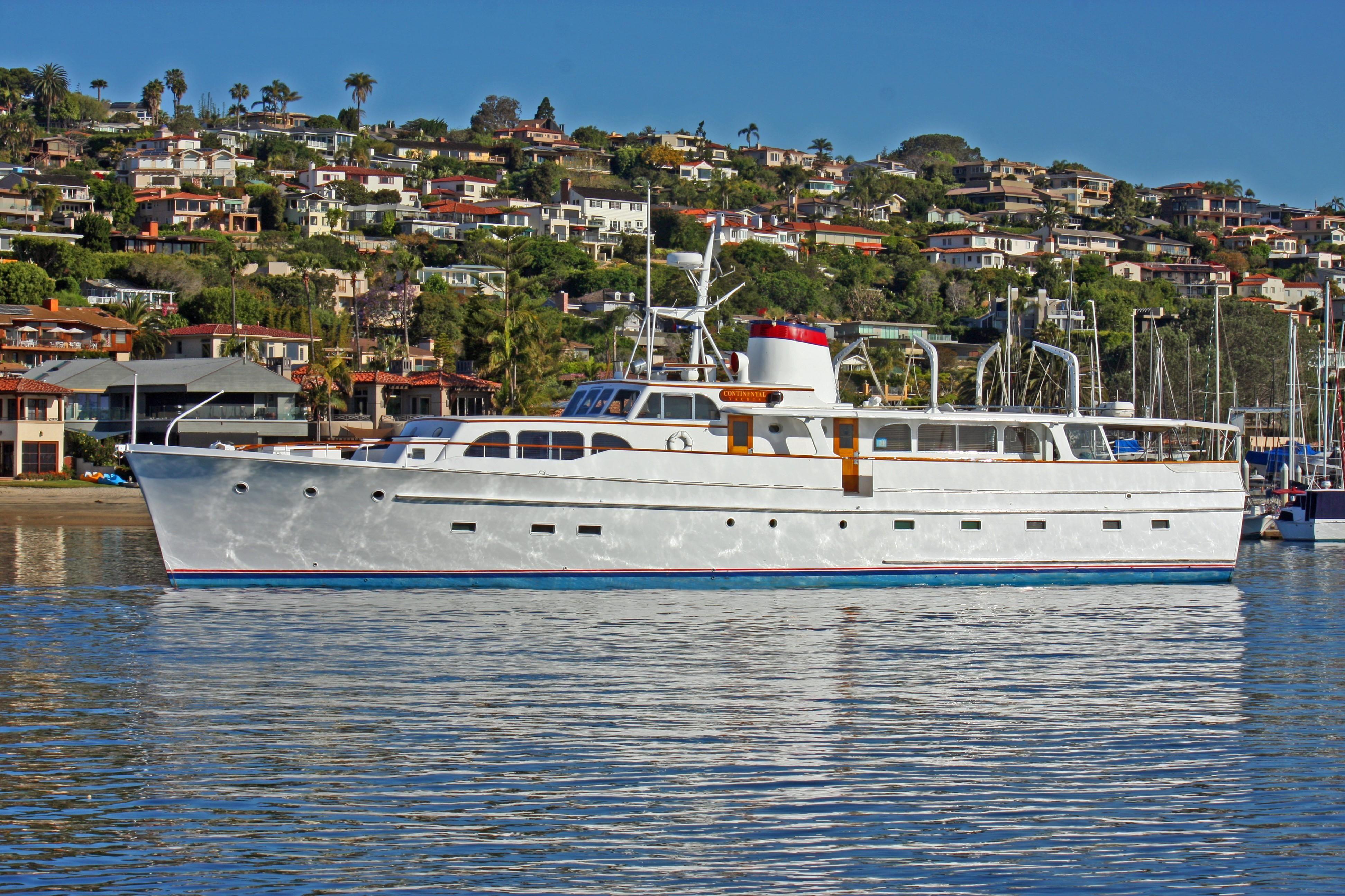 1957 broward 96 39 motor yacht 1957 hull 1 power boat for sale for Worldwide motors san diego ca