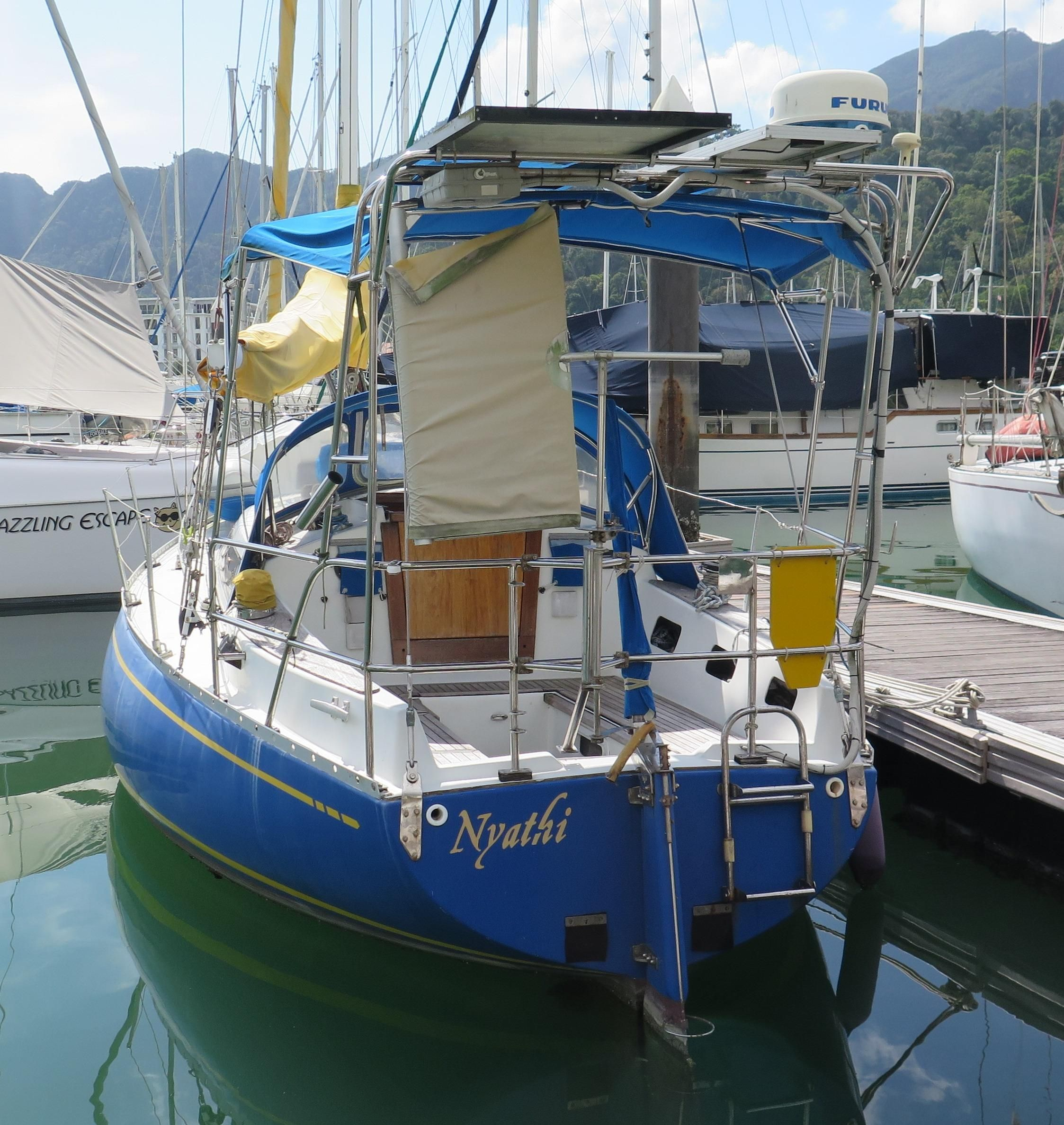 Beautiful Places In Malaysia With Description: 1987 Nebe Miura 31 Sail Boat For Sale