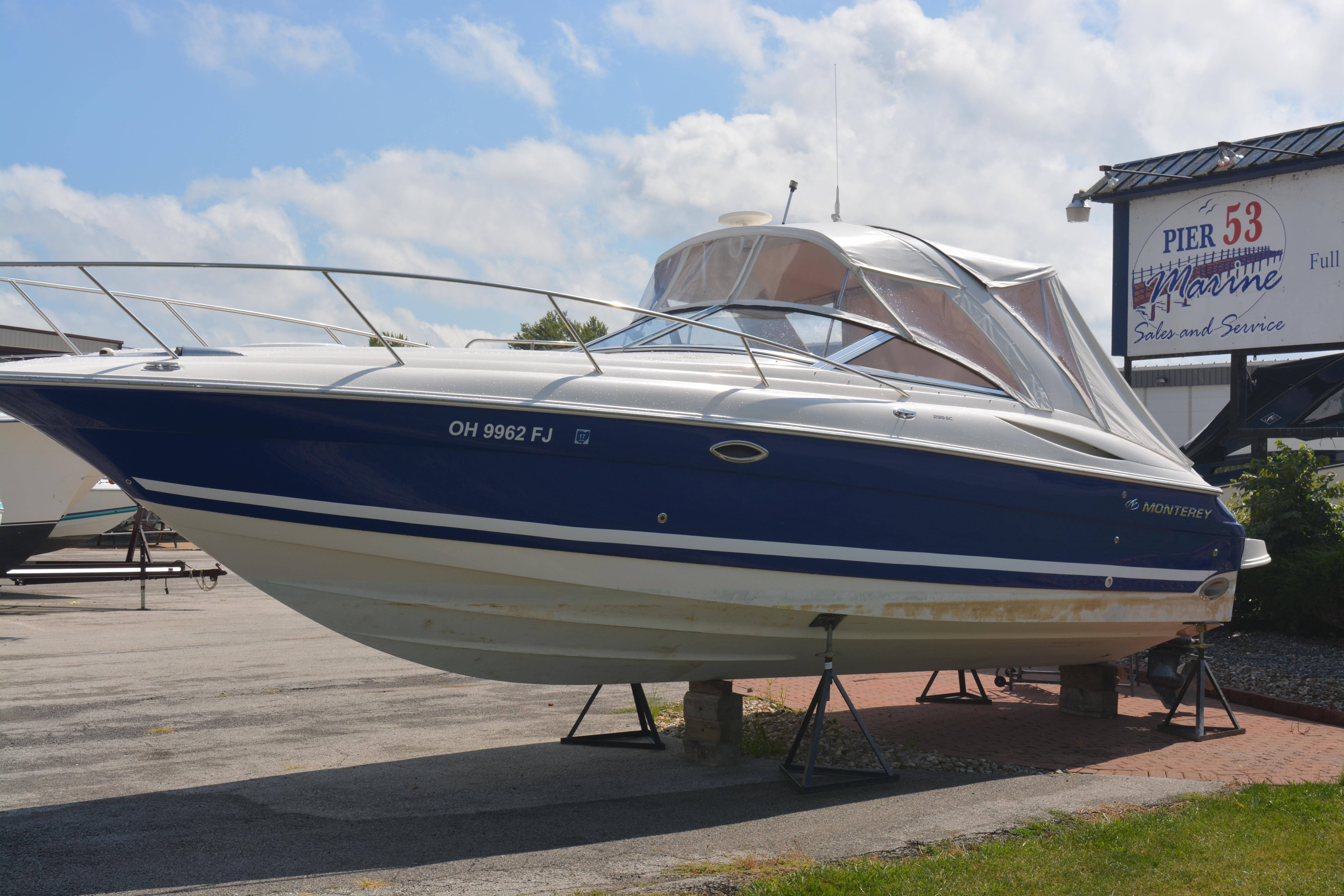 2003 monterey 298 sc cruiser power boat for sale www for Used boat motors for sale in sc