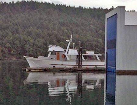 1963 Monk Trawler Tri Cabin Cruiser