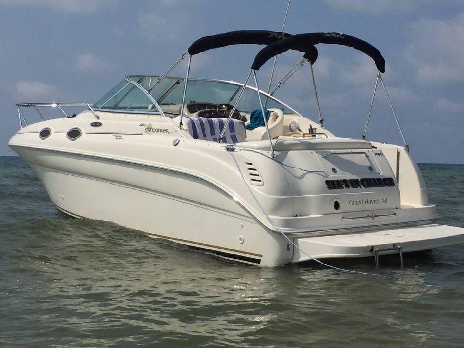 2003 Sea Ray 260 Sundancer Motor Båt til salgs - no