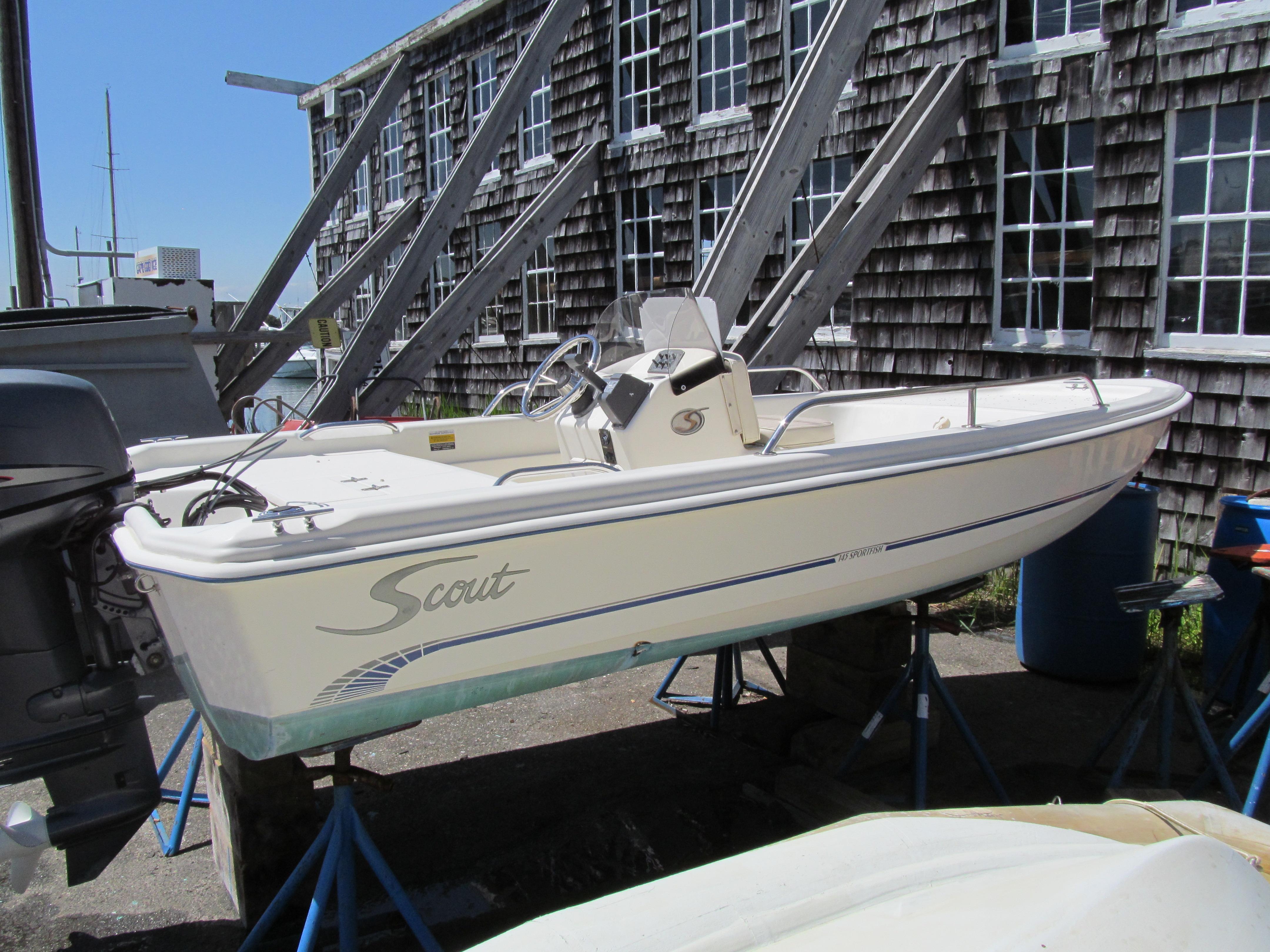 14 ft 2005 scout boats 145 sportfish