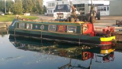 1972 Black Bull Engineering 46' Cruiser Stern Narrow Boat