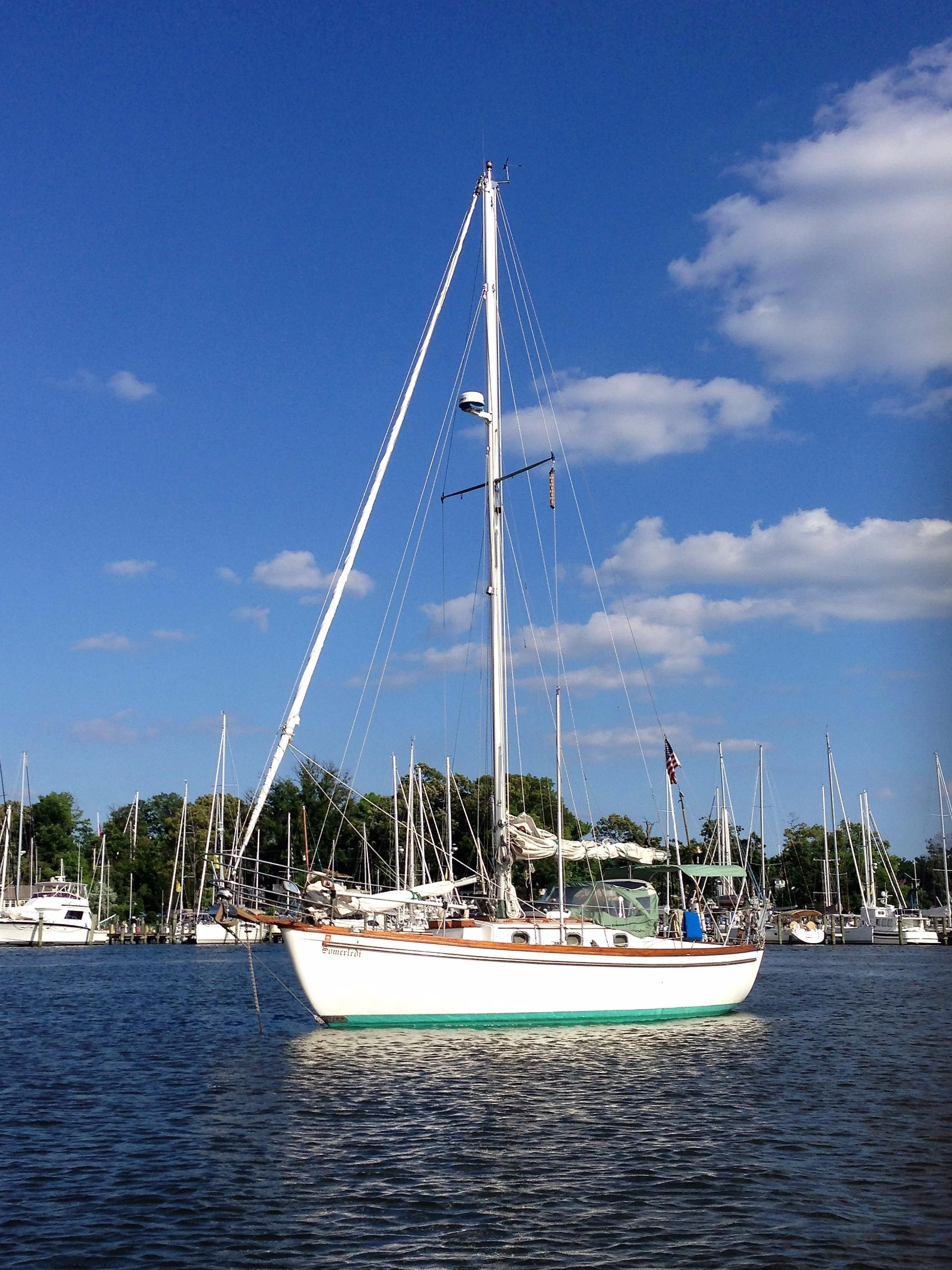 1983 Shannon 28 Sail Boat For Sale Www Yachtworld Com