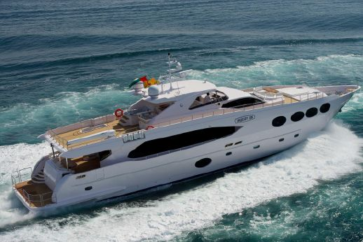 2013 Gulf Craft Majesty 105