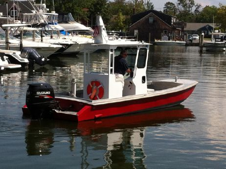 2014 Custom Aluminum Workboat (center Console-Pilot House)