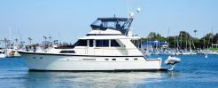 1988 Hatteras 53 Motor Yacht Fisher