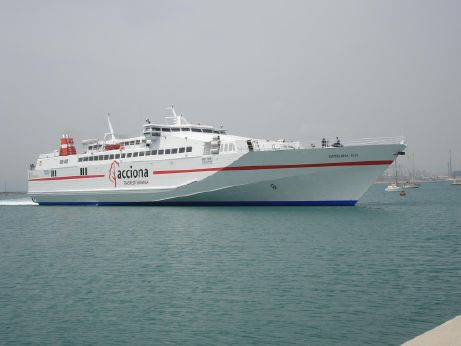 1997 Fast Day Pax/car Ferry Monohull