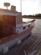 photo of  30' Ralph Stanley Downeast Lobster Yacht -  Classic Maine Picnic Boat