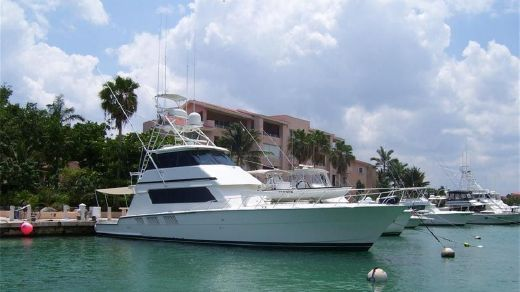 1997 Hatteras Enclosed Bridge Convertible SF