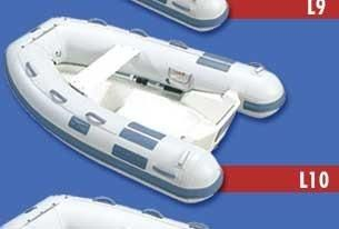 2014 Caribe L 10 Rigid Bottom inflatable
