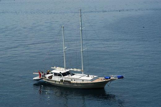 1986 Aegean Yachts Gulet Canoe Stern