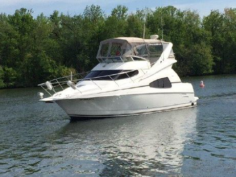 2001 Silverton 330 Sport Bridge