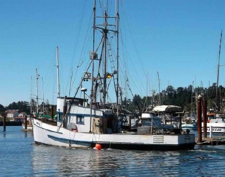 1941 Commercial Fishing Boat - Crab Tuna Troller
