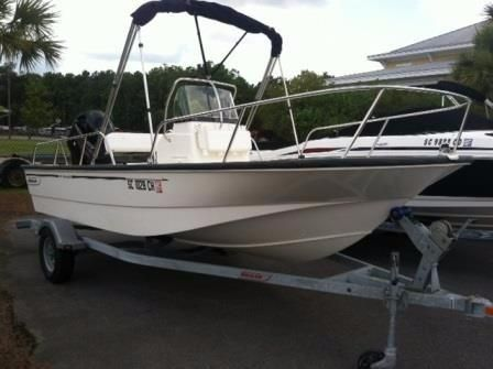 2014 Boston Whaler 17 Montauk